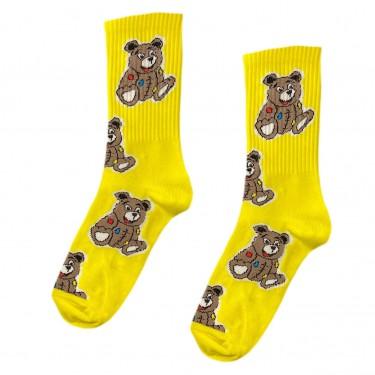 """Шкарпетки жовті """"Плюшеві Ведмедики"""" О, нет"""