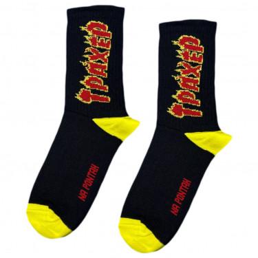 """Шкарпетки чорні """"Трахер"""" Понти"""