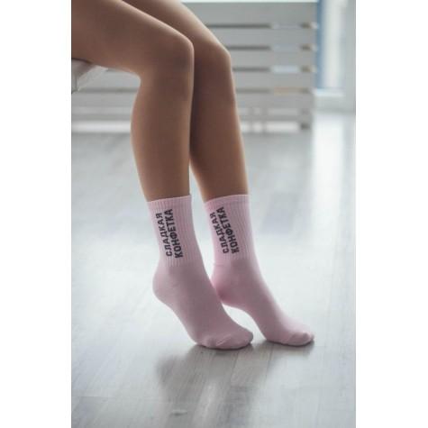 """Шкарпетки рожеві """"Сладкая конфетка"""" Socksstar"""