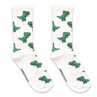 """Шкарпетки білі """"Тиранозавр"""" Socksstar"""