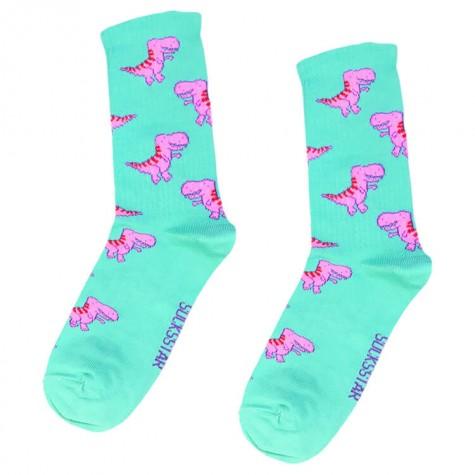 """Шкарпетки блакитні """"Тиранозавр"""" Socksstar"""