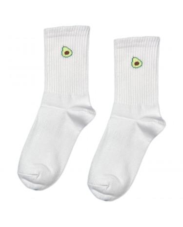 """Шкарпетки білі """"Авокадо"""" Sunny Focks"""