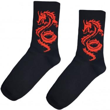 """Носки черные """"Red Dragon"""" Sunny Focks"""
