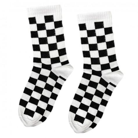 """Шкарпетки чорно-білі """"Шахи"""" Sunny Focks"""