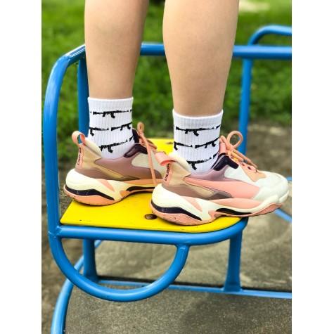 """Шкарпетки білі """"Калашников"""" Sunny Focks"""