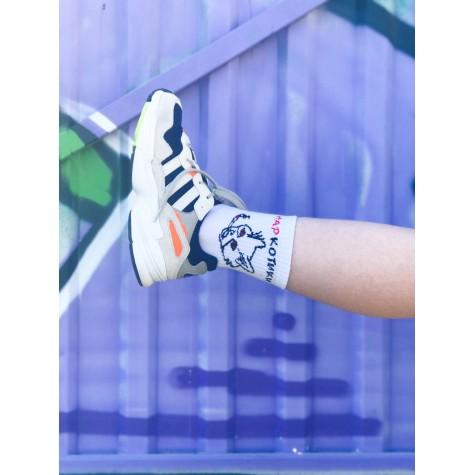 """Шкарпетки білі """"НарКотики"""" Sunny Focks"""
