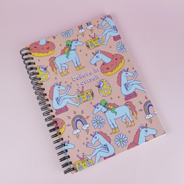 "Скетчбук А4 ""Believe In Yourself"" Jotter"
